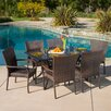 Home Loft Concept Caden 7 Piece Dining Set