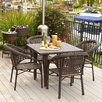 Home Loft Concept Norwich 5pc Outdoor Dining Set