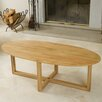 Home Loft Concept Zeke Solid Oak Table