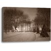 Ashton Wall Décor LLC America's Home by Rod Chase Photographic Print on Wrapped Canvas in Sepia