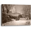 Ashton Wall Décor LLC Evening on the Hill by Rod Chase Photographic Print on Wrapped Canvas in Sepia
