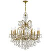 Crystorama Filmore 10 Light Crystal Chandelier