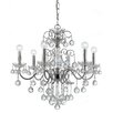 Crystorama Imperial 6 Light Crystal Chandelier