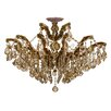 Crystorama Maria Theresa 6 Light Semi Flush Mount