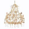 <strong>Paris Flea Market 8 Light Chandelier</strong> by Crystorama