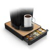 Mind Reader Wood Veneer Top Coffee Pod Drawer