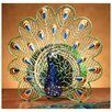 <strong>Deco Breeze</strong> Peacock Figurine Table Top Fan