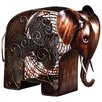<strong>Deco Breeze</strong> Elephant Shaped Figurine Fan