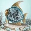 Tropical Fish Figurine Table Top Fan