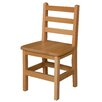 "Wood Designs 14"" Wood Classroom Glides Chair"