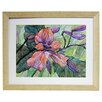 <strong>Alpine Art and Mirror</strong> Premier Flowers in Bloom II Framed Painting Print