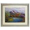 <strong>Alpine Art and Mirror</strong> Premier River Bend Framed Painting Print