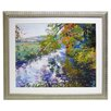 <strong>Alpine Art and Mirror</strong> Premier River Ripple Framed Painting Print