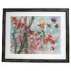 <strong>Alpine Art and Mirror</strong> Premier Cherry Tree in Bloom Framed Painting Print