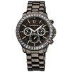 Vernier Women's Crystal Bezel Chronograph Watch