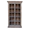 """<strong>White x White</strong> Mons Library Vitrine 85"""" Bookcase"""