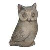 White x White Hoot The Owl Statue