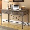 Coast to Coast Imports LLC Executive Writing Desk with 2 Drawer