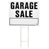 """<strong>20"""" x 24"""" Garage Sale Lawn Sign</strong> by Hy-Ko"""