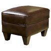 Chelsea Home Russell Leather Ottoman