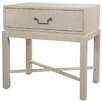 HGTV Home Pearlized Shagreen End Table