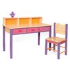 Room Magic Little Girl Tea Set Children's Table and Chair Set