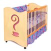 Room Magic Girl Teaset Crib / Toddler Bed in Chocolate