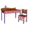 Room Magic Little Girl Tea Set Kids' 2 Piece Table and Chair Set
