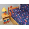 Room Magic Star Rocket Twin Duvet Cover / Bedskirt / Sham Set