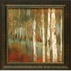 Artistic Reflections Along the Path I Framed Painting Print
