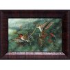 Artistic Reflections Ruby Throated Hummingbird Framed Painting Print