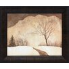 <strong>Artistic Reflections</strong> Winter Path Framed Painting Print