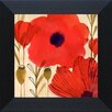 Artistic Reflections Wild Poppies I Framed Painting Print