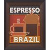 <strong>Artistic Reflections</strong> Deco Coffee I Framed Vintage Advertisement