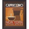 <strong>Artistic Reflections</strong> Deco Coffee IV Framed Vintage Advertisement