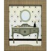 Artistic Reflections Parisian Bath II Framed Graphic Art