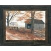 Artistic Reflections Old County Road Framed Painting Print