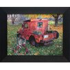 Artistic Reflections Old truck Frame Painting Prints