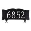 "Montague Metal Products Inc. Mailbox Sign with 3"" Numbers"
