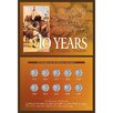 <strong>10 Years of Buffalo Nickels Wall Framed Memorabilia</strong> by American Coin Treasures