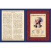 American Coin Treasures Famous Speech Series George Washington Wall Framed Memorabilia