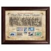 <strong>American Coin Treasures</strong> 150 Year Anniversary Civil War Stamp Framed Memorabilia
