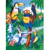 Royal & Langnickel Painting by Numbers Junior Small Tropical Bird Set