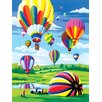 <strong>Royal & Langnickel</strong> Painting by Numbers Small Hot Air Balloon Junior  Set