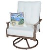 Panama Jack Outdoor Swivel Lounge Chair with Cushion