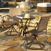 <strong>Panama Jack Outdoor</strong> Island Cove 3 Piece Dining Set