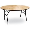 "McCourt Manufacturing ProRent 60"" Round Folding Table"