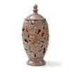 """Voit CandleTEK 17"""" Ceramic Floral Vase"""