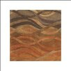James Bond Alliyah Abstract Brown/Tan Area Rug