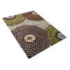James Bond Alliyah Fair Brown Area Rug